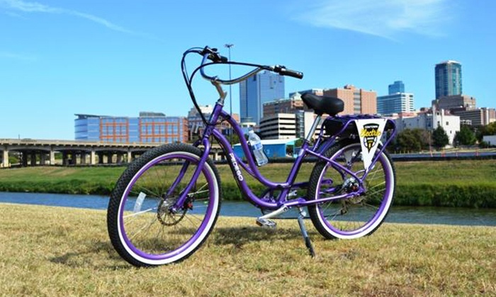 Cowtown Electric Bikes - Cowtown Electric Bikes: $35 for an Electric-Bike Tour of Fort Worth from Cowtown Electric Bikes ($68 Value)