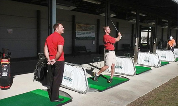 Greg Jones Golf Academy - Sharon: Private or Semiprivate Golf Lessons or Junior Golf Program at Greg Jones Golf Academy (Up to 53% Off)