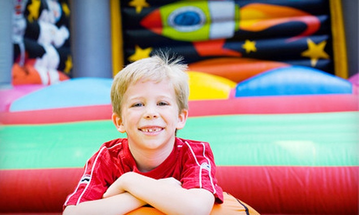 Bounce Around Indoor Family Fun Center - Clifton Park Center Mall (Inside between Regal Cinema and Boscov's): Bounce Sessions or a Birthday Party at Bounce Around Indoor Family Fun Center (Up to 52% Off). Three Options Available.