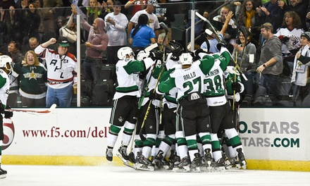 Texas Stars AHL Hockey Game Against the Rockford IceHogs (December 2 or 8)