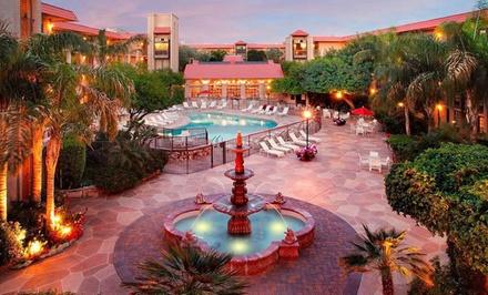 Stay at Chaparral Suites Scottsdale, AZ. Dates into August.