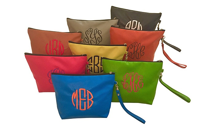 Social Monograms: Custom Monogrammed Wristlet from Social Monograms (Up to 50% Off)