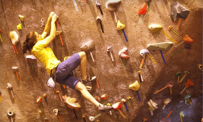 Island Rock - Plainview: Quickstart Climbing Package with Option for One-Month Membership at Island Rock in Plainview (Up to 69% Off)