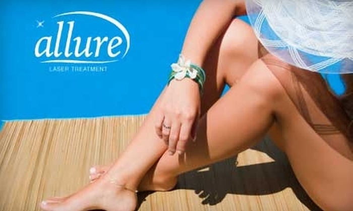 Allure Laser Treatment - Tallahassee: $149 for Six Laser Hair Removal Treatments at Allure Laser Treatment (Up to a $400 Value)
