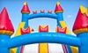 Bounce Rentals Party Supply Store: Concession Machine, Standard Bounce House, Party Package, or Obstacle Course Rental from Bounce Rentals Party Supply Store