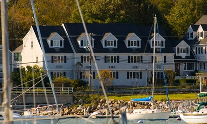 The Inn at Scituate Harbor - Scituate: $99 for One-Night Stay at The Inn at Scituate Harbor Plus $15 for Pub Fare at The Dogwatch (Up to $278 Value)