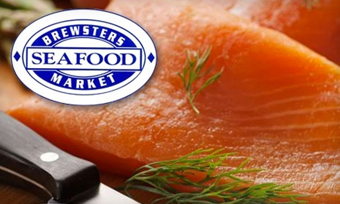 Brewster's Seafood Market - Southampton: $15 for $30 Worth of Seafood and More at Brewster's Seafood Market