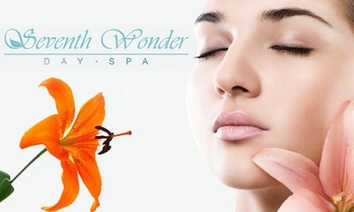 Seventh Wonder Day Spa - Ortega: $39 for a Massage or Facial of Your Choice at Seventh Wonder Day Spa (Up to $85 Value)