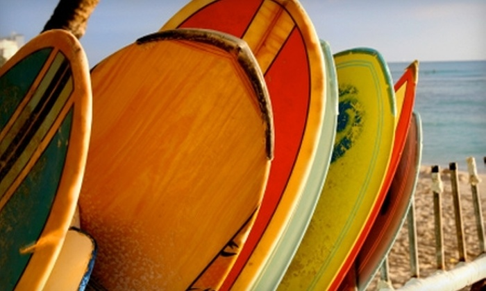 Whitlock Surf Experience - Carlsbad: $49 for a Two-Hour Surf Lesson at Whitlock Surf Experience in Carlsbad ($99 Value)