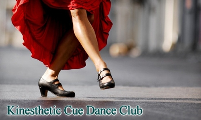 Kinesthetic Cue Dance Club - Madison: $15 for Three Private Dance Lessons, Three Group Classes, and One Month of Dance Parties at the Kinesthetic Cue Dance Club ($160 Value) in Madison