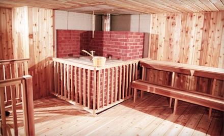 Steamul Sauna: 2 Steam-Sauna Sessions (a $54 value) - Steamul Sauna in Mississauga