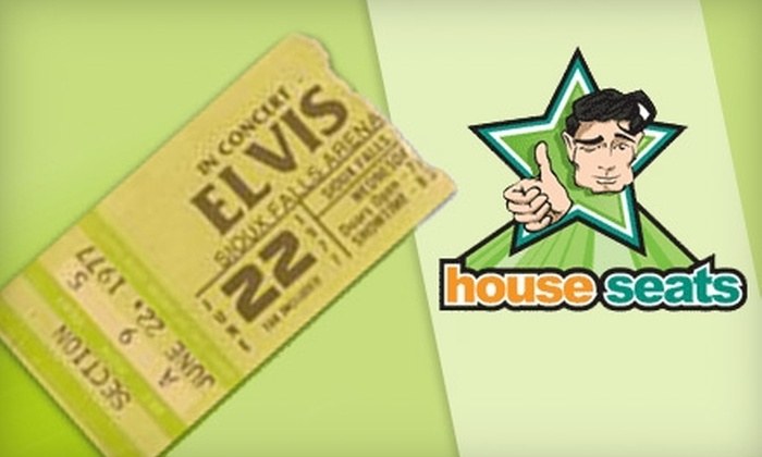 House Seats: $10 for a Two-Month Trial Membership for House Seats Event Ticketing ($39 Value)