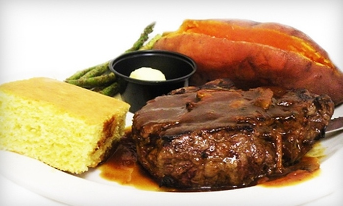 Bull Durham's Texas BBQ & Steakhouse Saloon - Birmingham: $20 for $40 Worth of Southwestern Fare at Bull Durham's Texas BBQ & Steakhouse Saloon in West Chester