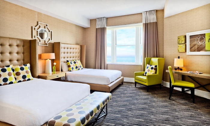 Berkeley Oceanfront Hotel - Asbury Park, NJ: $139 for a One-Night Stay for Two Wednesday Through Sunday at the Berkeley Oceanfront Hotel in New Jersey (Up to $234 Value)
