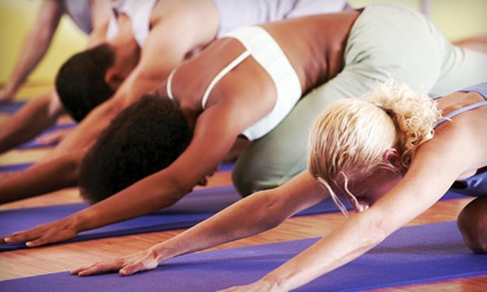 Abhyaasa Yoga - Chicago: 10 Yoga Classes or One Month of Unlimited Yoga Classes at Abhyaasa Yoga in Naperville (81% Off)