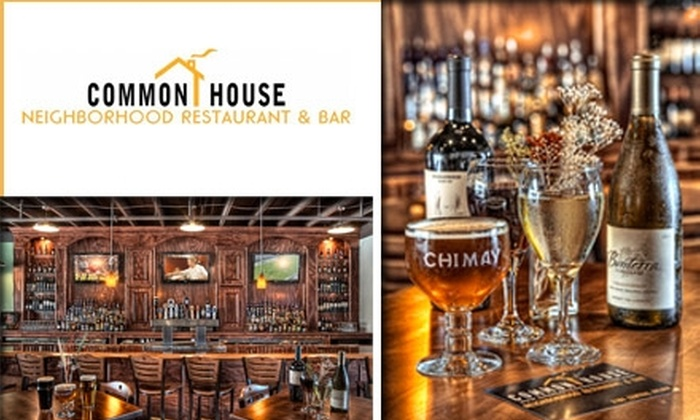 Common House - Belmont: $15 for $30 Worth of Casual Southern Fare and Drinks at Common House