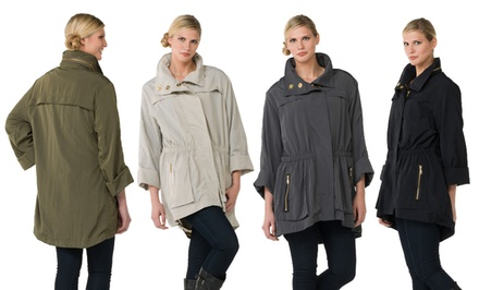 Seven7 Women's Plus-Size Anorak Jackets. Multiple Colors Available. Free Returns.