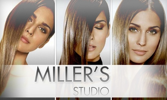 Miller's Hair Studio FL - Coral Gables: $45 for $100 Worth of Services at Miller's Hair Studio