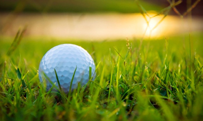 The Greens at North Hills - Sherwood: Golf Outing for Two or Golf Package with Two or Four Lessons and Golf Balls at The Greens at North Hills (Up to 63% Off)