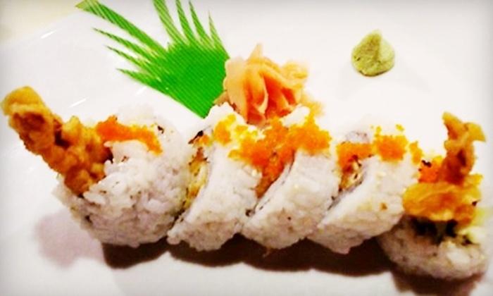 Ukiyoe - Arbor Lodge: $10 for $20 Worth of Authentic Japanese Cuisine at Ukiyoe
