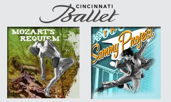 "Cincinnati Ballet - West End: $20 for One Ticket to One of Six Performances at Cincinnati Ballet ($40 Value). Buy Here for ""The Sammy Project!"" at 8 p.m. on May 7, 2010. See Below for Additional Dates and Performances."