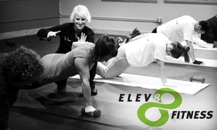 ELEV8 Fitness  - North End: $30 for Six Fitness Classes at ELEV8 Fitness ($60 Value)