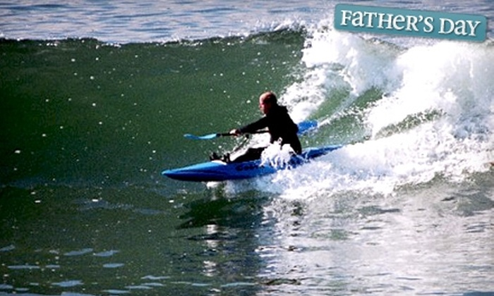 Ormond Beach Sandlot - Ormond by the Sea: Four-Hour Kayak Rental or Water-Sports Lesson from Ormond Beach Sandlot. Four Options Available.