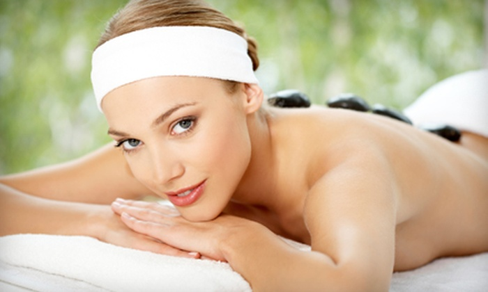 World of Health - Winchester: $49 for a 60-Minute Hot-Stone Massage at World of Health (Up to $119 Value)