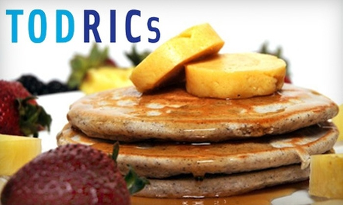 Todric's Fine Dining and Catering - Overbrook West - McArthur: $10 for $20 Worth of Weekend Brunch or $20 for $40 Worth of Dinner at Todric's Fine Dining and Catering