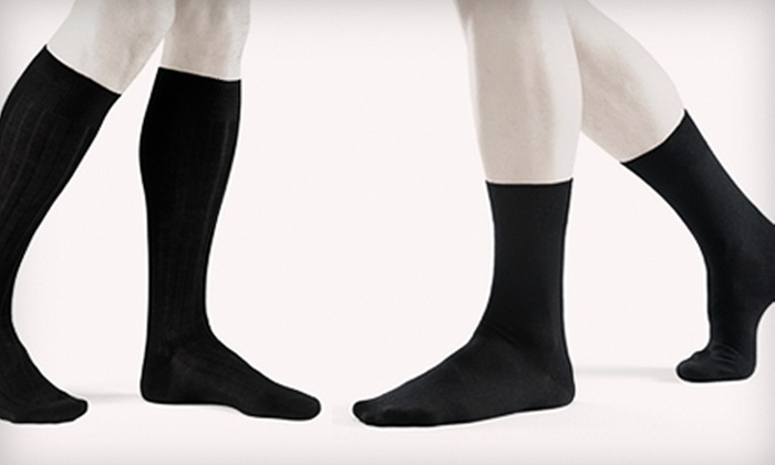 Blacksocks: $12 for $25 Worth of Men's Socks and More from Blacksocks