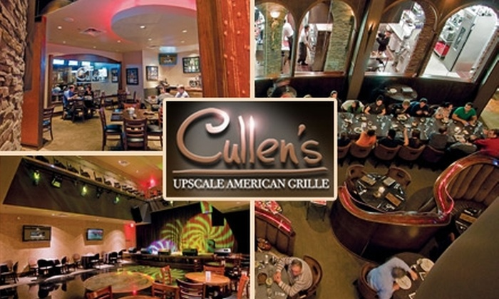 Cullen's American Grille - Southbelt/ Ellington: $20 for $40 Worth of Upscale American Cuisine at Cullen's