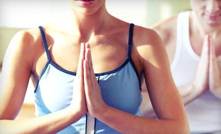 6 Classes - Studio One Yoga & Massage in Stillwater