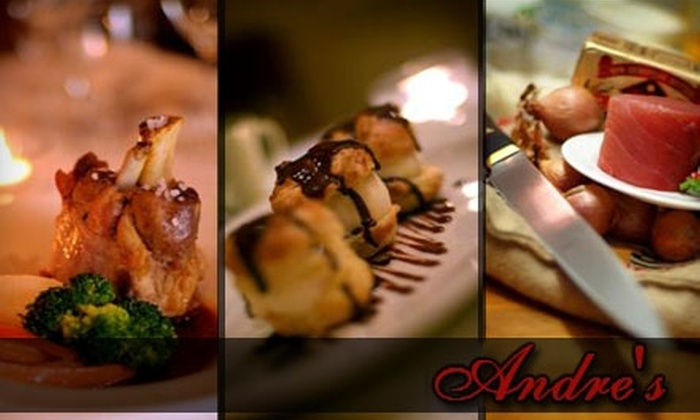 Andre's Restaurant - Newton: $25 for $50 Worth of Euro-American Cuisine at Andre's Restaurant