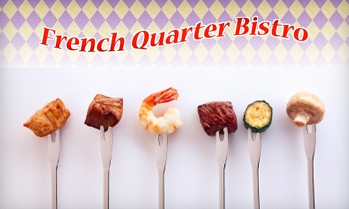 French Quarter Bistro - Royersford: $20 for $40 Worth of Creole Cuisine at French Quarter Bistro in Royersford