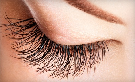 Set of 80 Eyelash Extensions (a $120 value) - Aimee Salon & Spa in Forest Hills