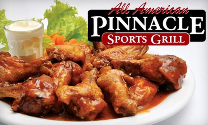 Pinnacle Sports Grill - Meridian: $15 for $30 for Pinnacle Sports Grill