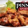 Half Off Pinnacle Sports Grill