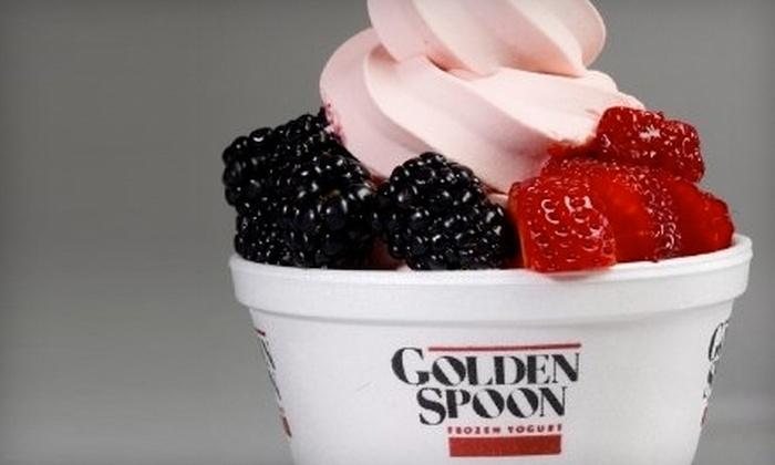 Golden Spoon Frozen Yogurt - Multiple Locations: $10 for Six Small Yogurts at Golden Spoon Frozen Yogurt (Up to $22 Value)