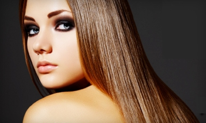 Another Wild Hair - Summerlin: $25 for Shampoo, Cut, Style, and Paul Mitchell Deep-Conditioning Treatment at Another Wild Hair