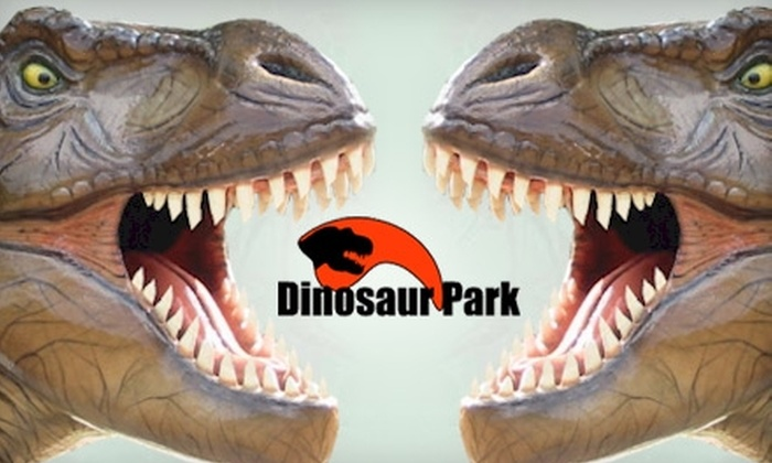The Dinosaur Park - Cedar Creek-Red Rock: $6 for Two Admission Passes to The Dinosaur Park in Cedar Creek ($12 Value)