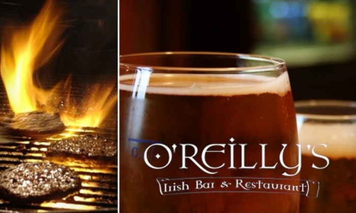 O'Reilly's Irish Bar and Restaurant - Downtown Indianapolis: $9 for $20 Worth of Authentic Irish Fare and Drinks at O'Reilly's Irish Bar and Restaurant