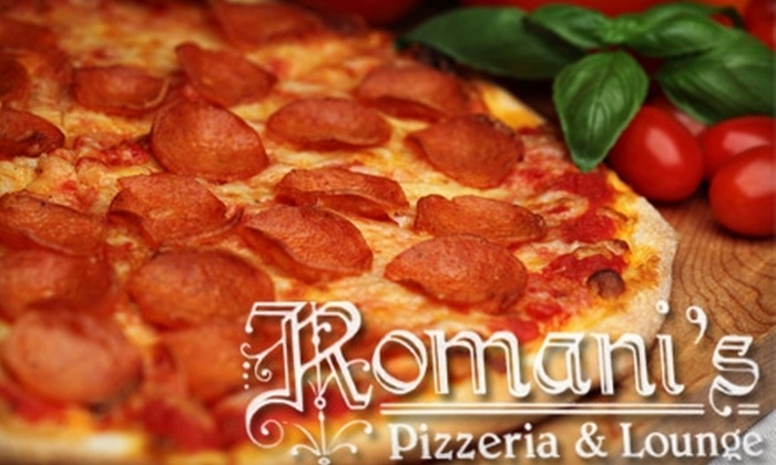 Romani's Pizzeria & Lounge - Montcalm: $15 For $30 Worth of Italian Cuisine at Romani's Pizzeria & Lounge