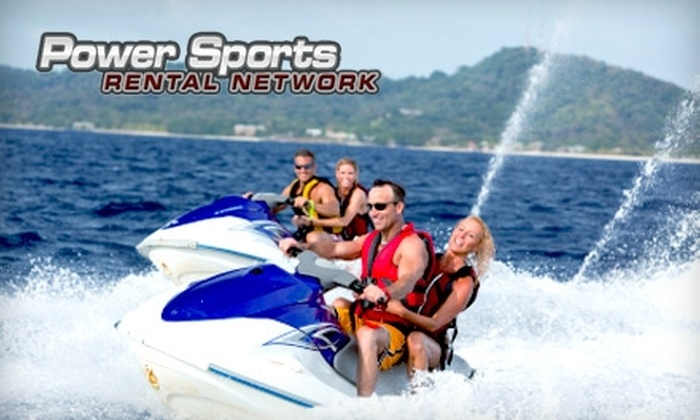 Power Sports Rental Network - Grand Chute: $110 for One Day of Jet Ski Rental from Power Sports Rental Network ($219 Value)
