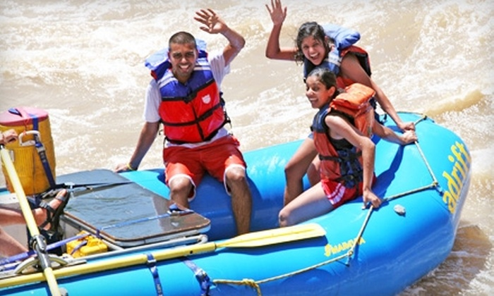 Adrift Adventures - Moab: $45 for a Half-Day Colorado River Rafting Excursion for Two from Adrift Adventures in Moab (Up to $92 Value)