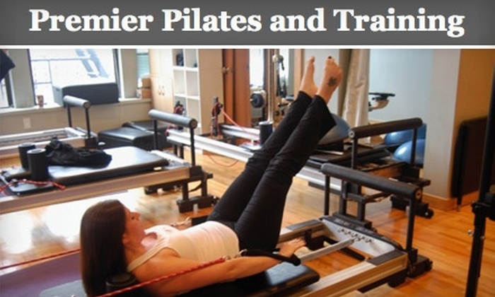 Premier Pilates and Training - Hoboken: $50 for a Choice of Five Mat Classes, Three Group Reformer Classes, or Two Private Classes at Premier Pilates and Training in Hoboken (Up to $160 Value)