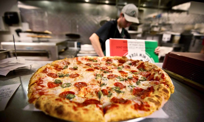 Borriello Brothers Pizza - Multiple Locations: $12 for Medium Specialty with Choice of Side at Borriello Brothers Pizza (Up to $21.50 Value)