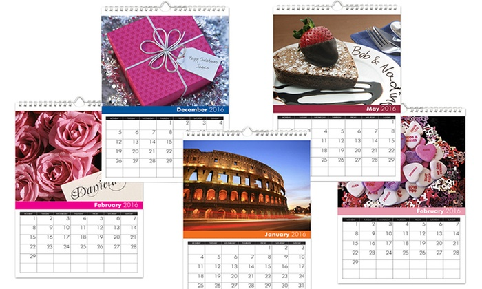 Simply Personalized: Personal-Image Calendar from Simply Personalized (40% Off). Four Options Available.