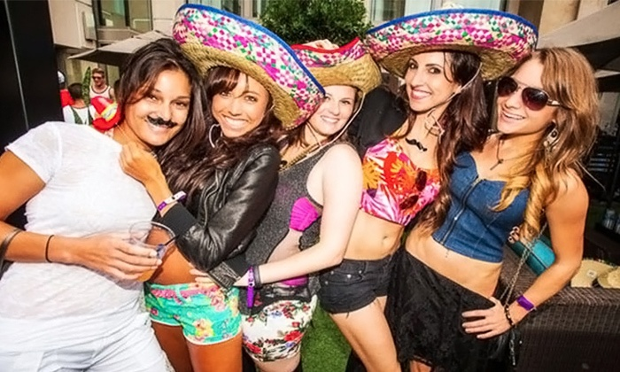 Sombrero Bar Crawl - Whisky River at EpiCentre: Cinco de Mayo Sombrero Bar Crawl for One, Two, or Four from Carolina Nightlife on Saturday, May 2 (47% Off)