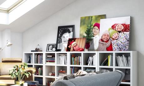 Impresión sobre aluminio con imagen personalizable disponible en diferentes tamaños desde 7,99 €con Photo Gift