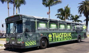 That Bus: Brewery or Winery Bus Tour with DJ for Two or Four from That Bus (Up to 57% Off)